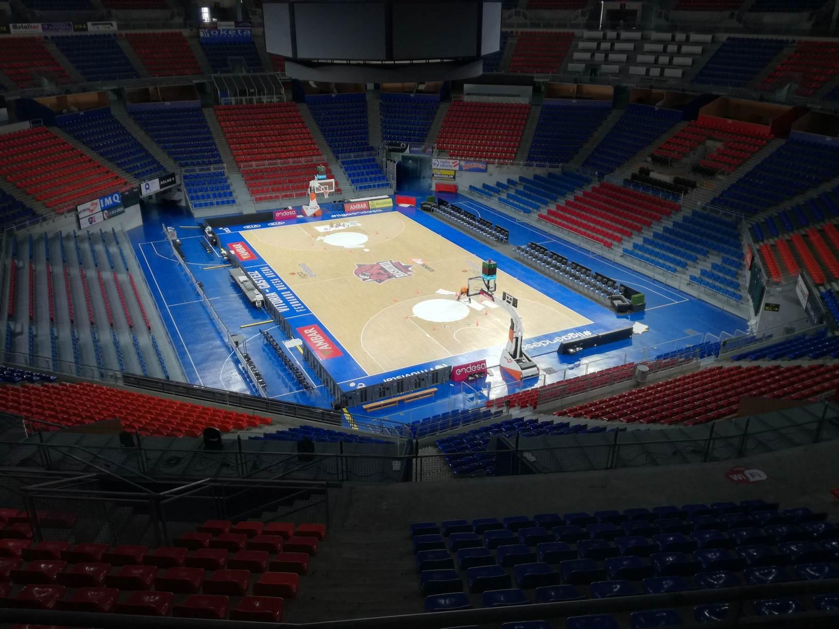 Pabellón Multiusos Fernando Buesa Arena (CD Baskonia), Vitoria