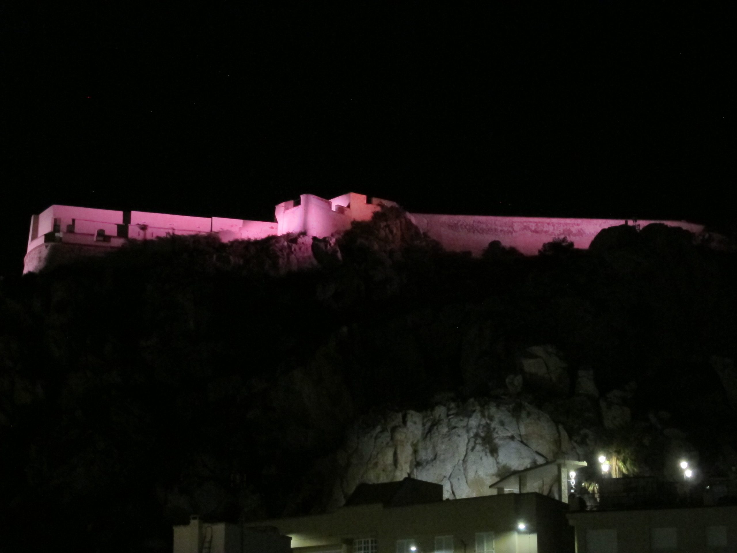 Castillo de Águilas (Murcia)