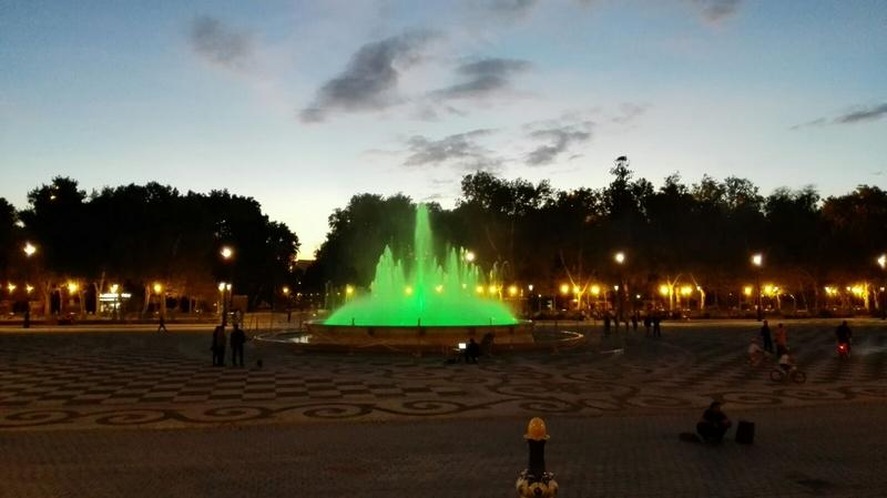 Fuente de la Plaza de España, Sevilla
