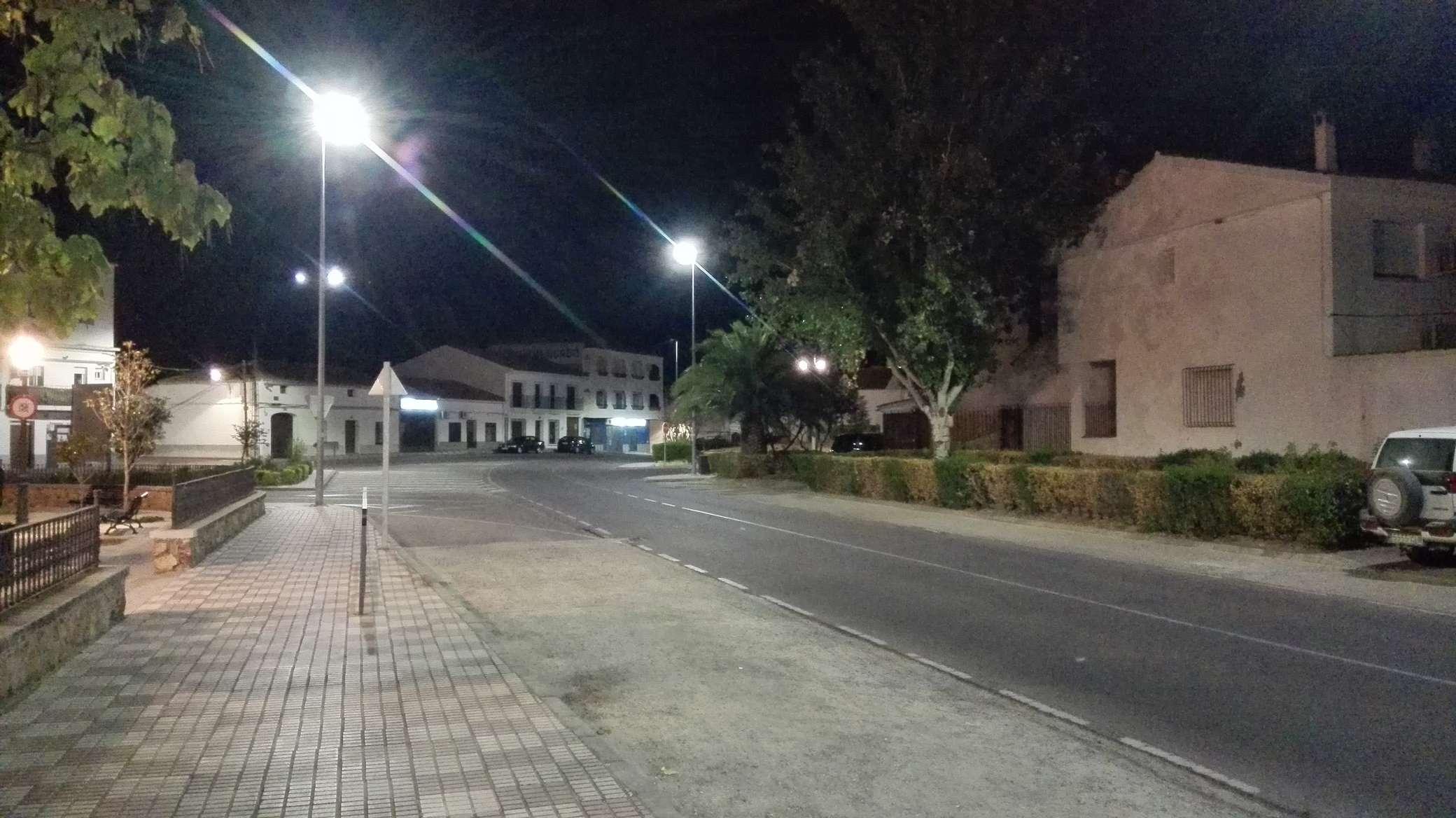 Alumbrado de Talarrubias (Badajoz)