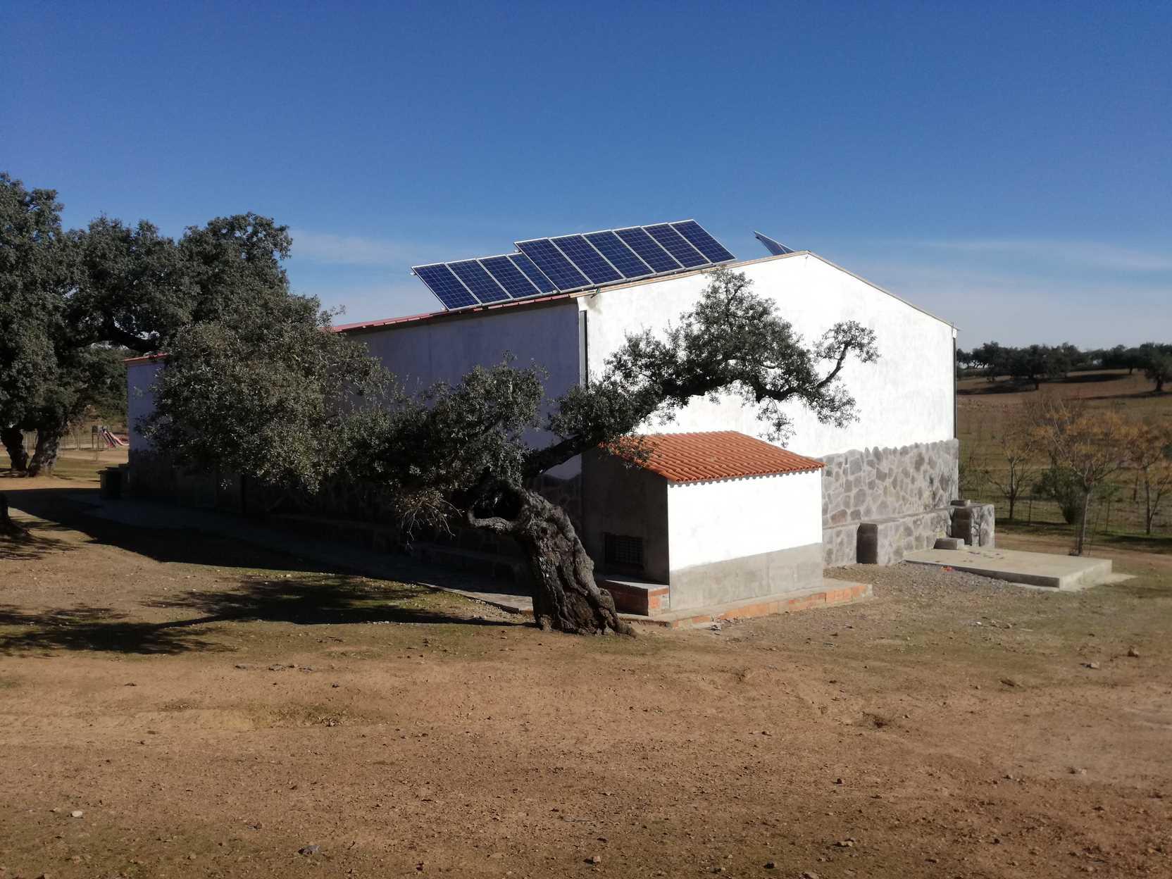 Instalación fotovoltáica en Valencia del Mombuey (Badajoz)