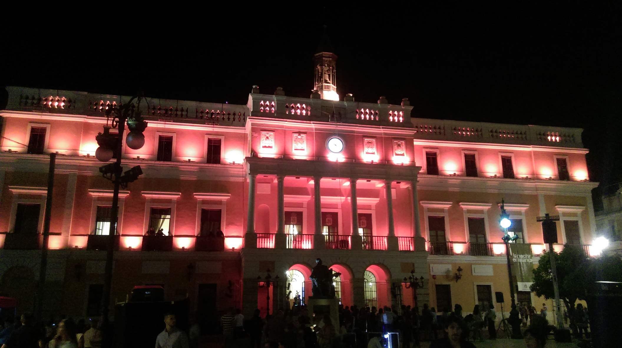 Noche en Blanco de Badajoz