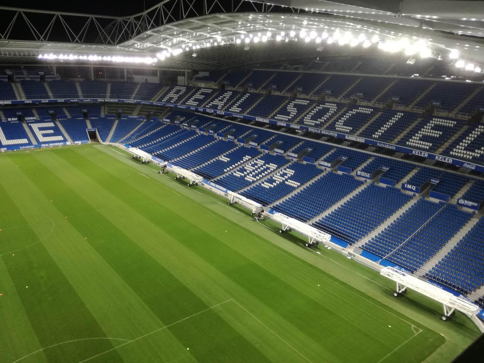 Estadio Municipal de Anoeta, San Sebastián (Guipuzcoa)