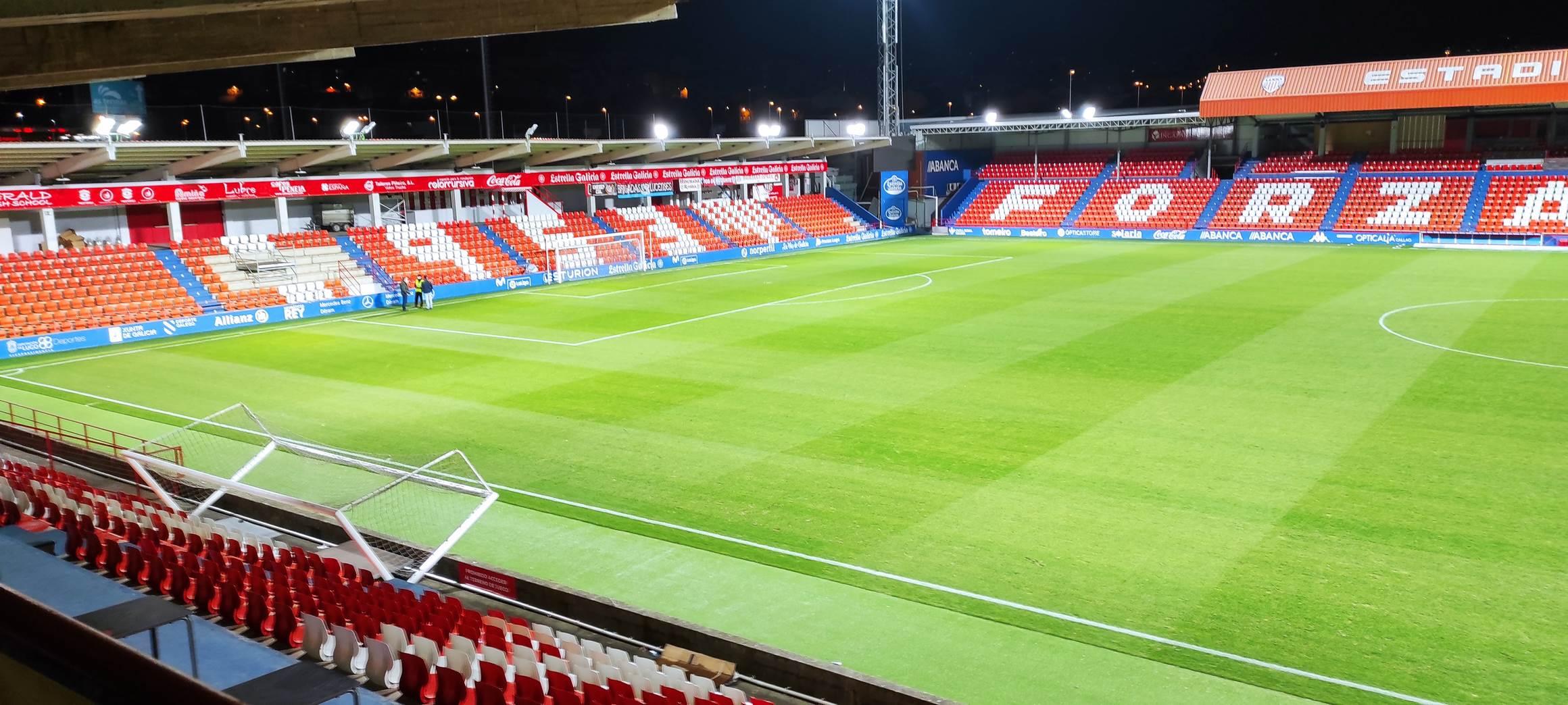 Estadio Ángel Carro (CD Lugo), Lugo