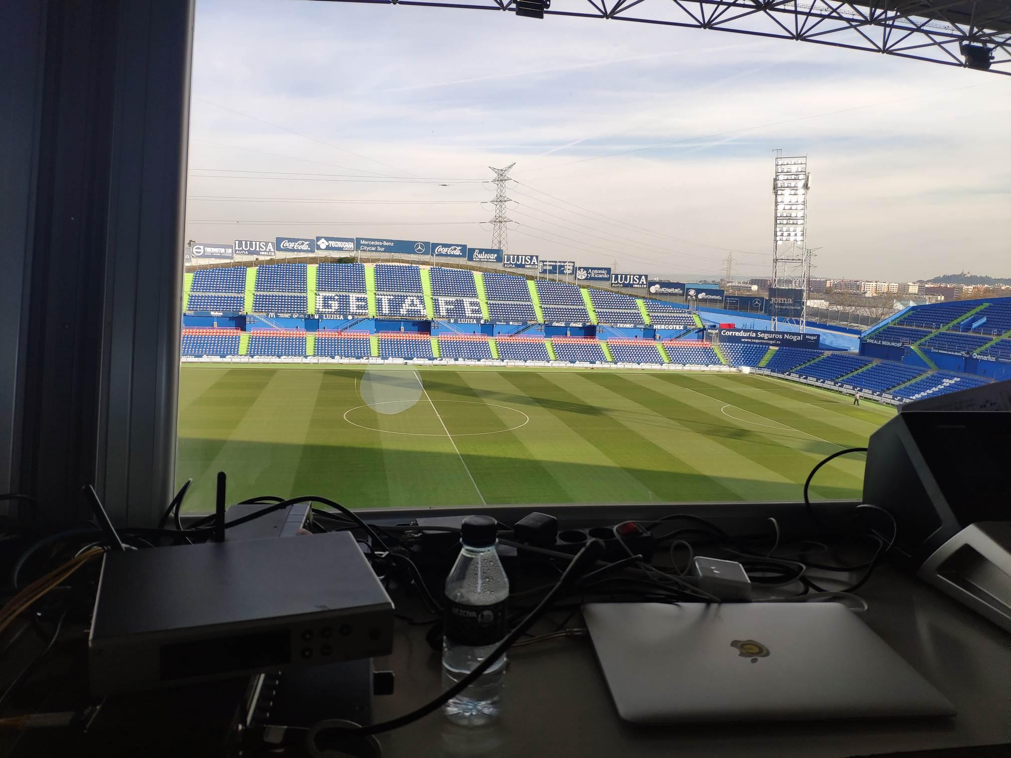Coliseum Alfonso Pérez (Getafe CF), Getafe (Madrid)