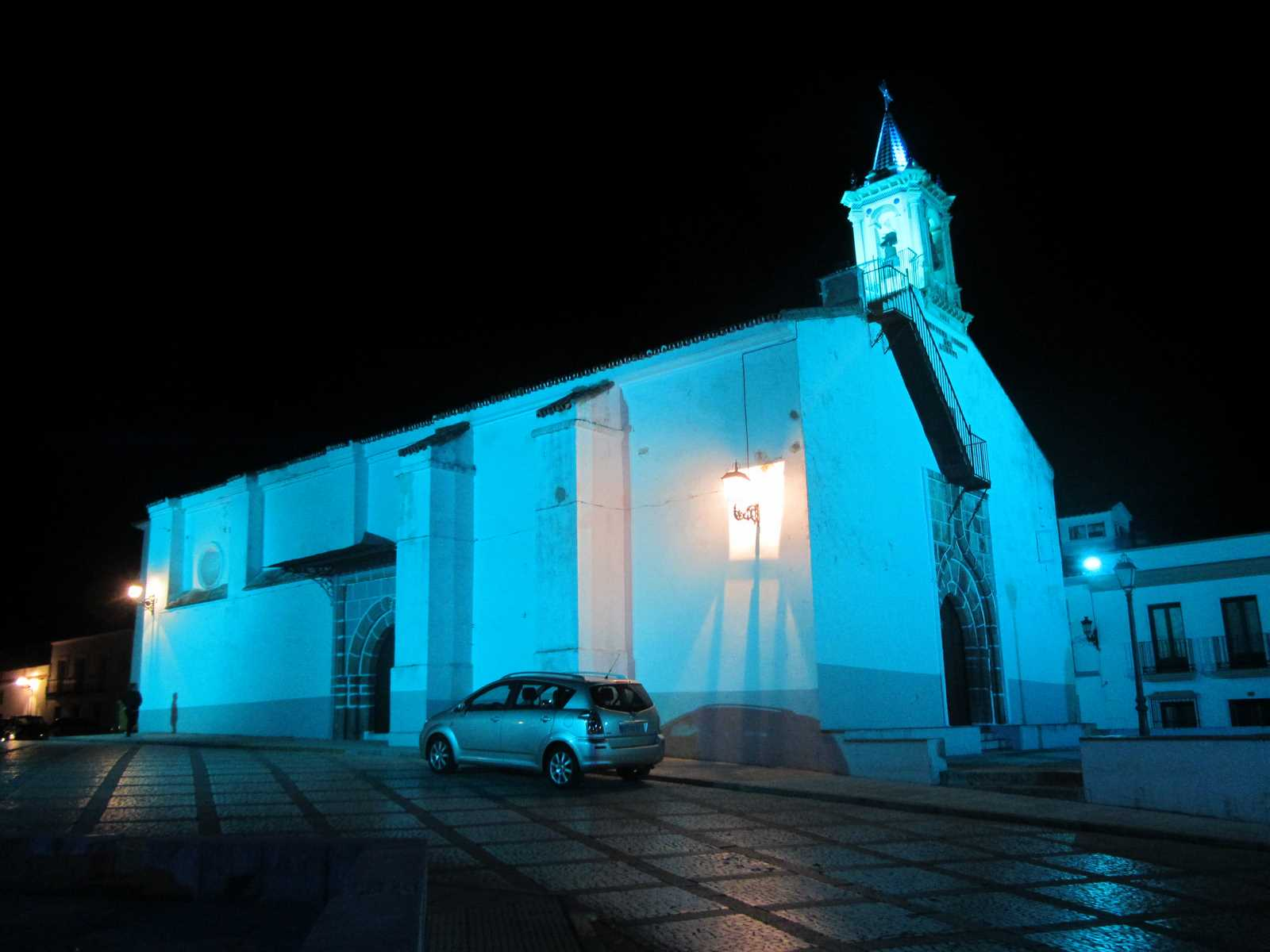 Plaza del Loreto, Higuera la Real (Badajoz)