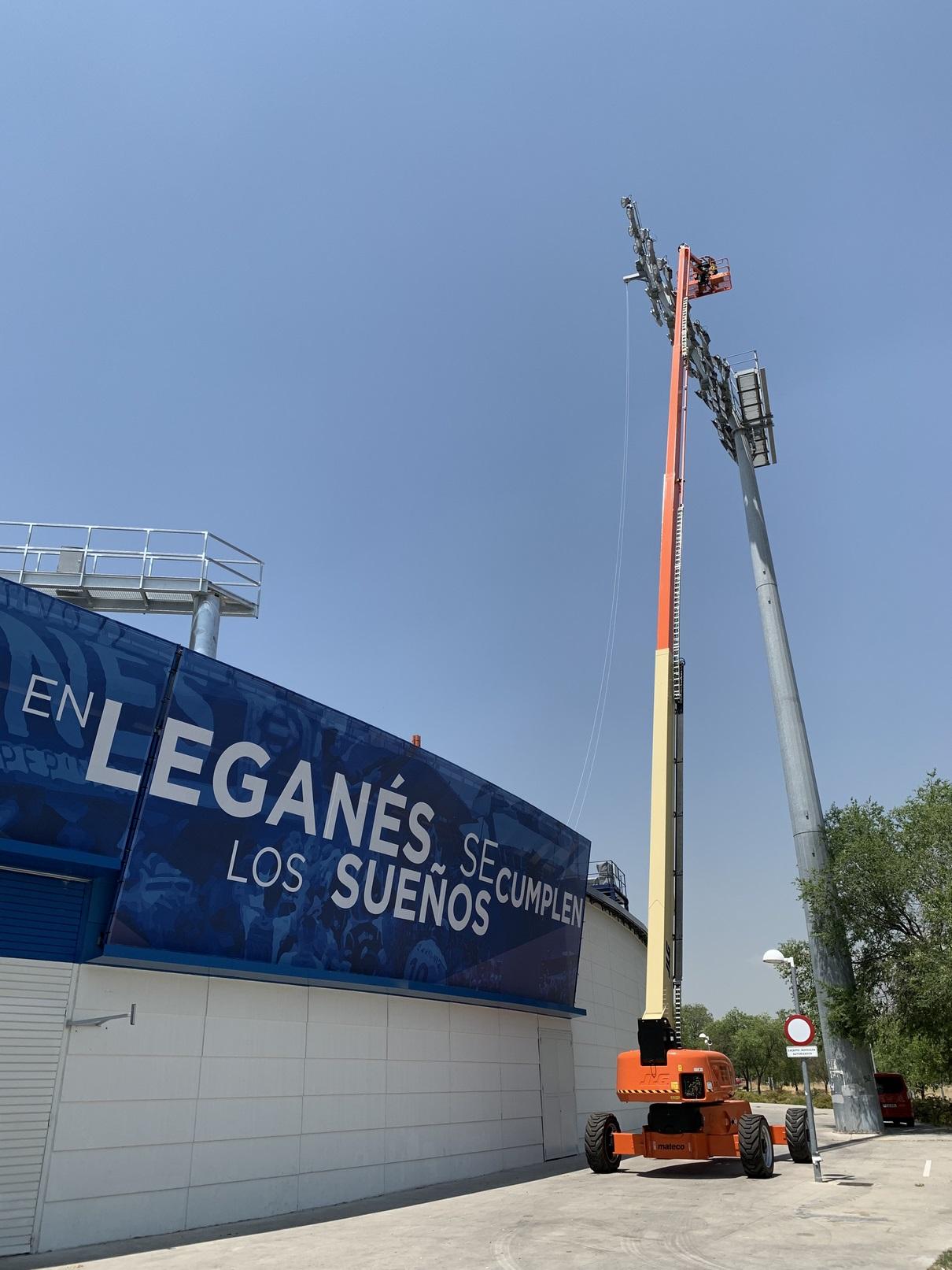 Estadio Municipal de Butarque, Leganés (Madrid)