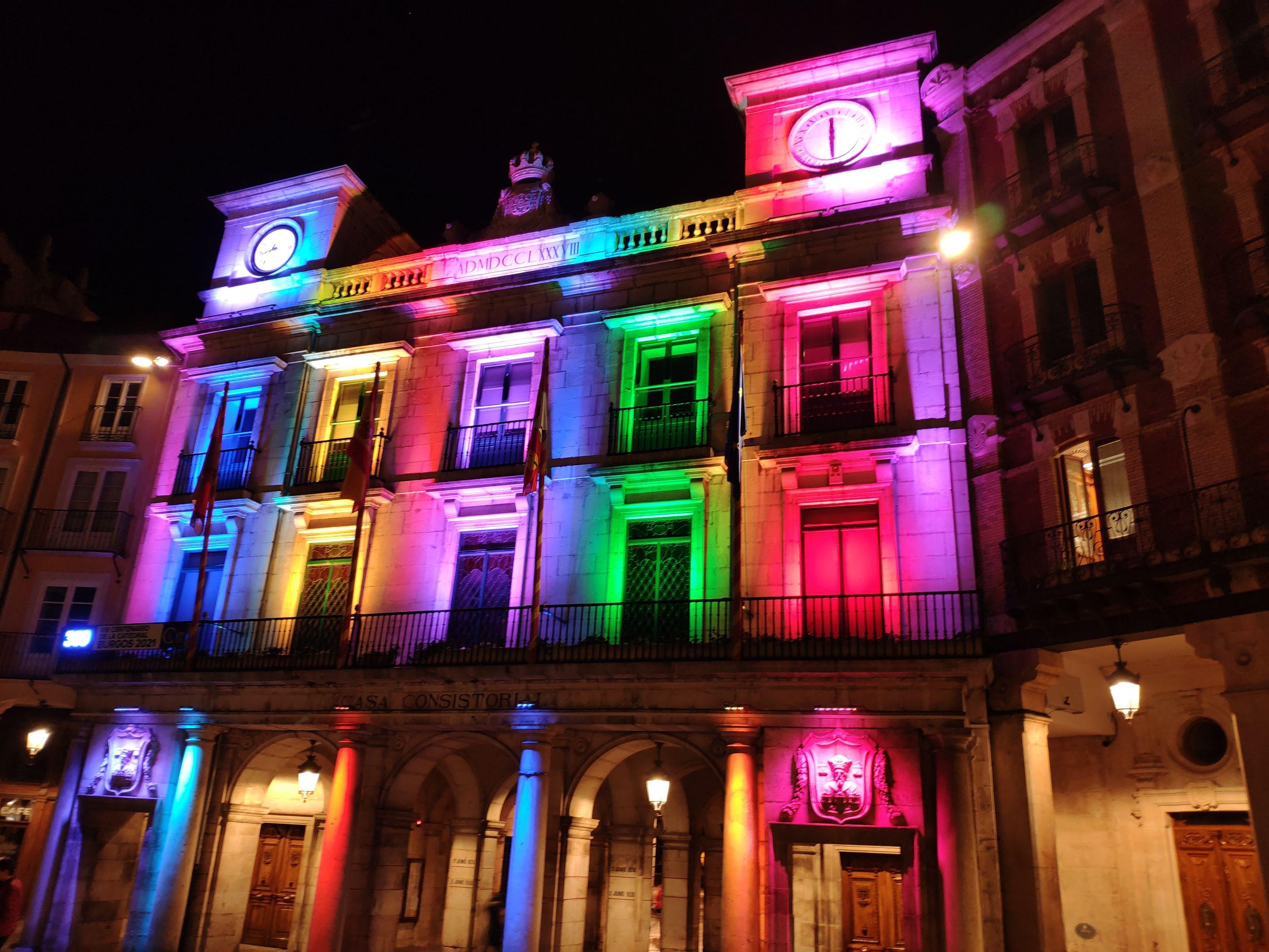 Fachada del Ayuntamiento del Burgos, Burgos